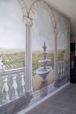 Murals By Marg Tuscan Trompe L'oeil 1.JPG