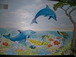 Murals By Marg Safari Mural 26