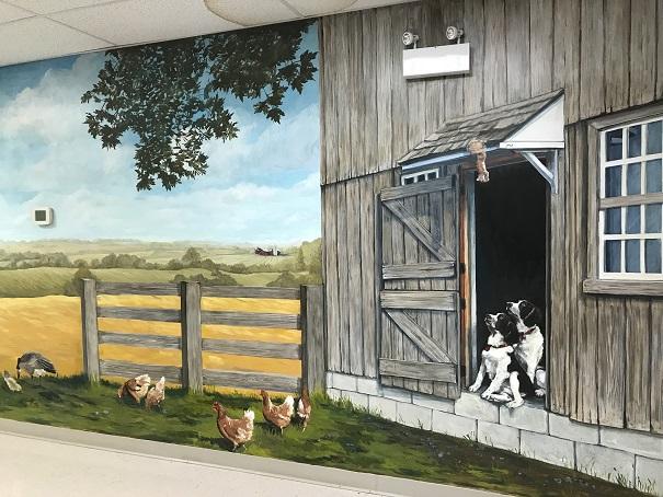 Murals By Marg -- Farm life Cargill 2