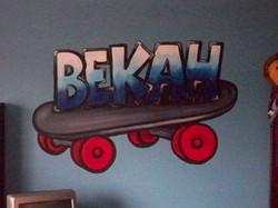 Murals By Marg Bekah's Room 1