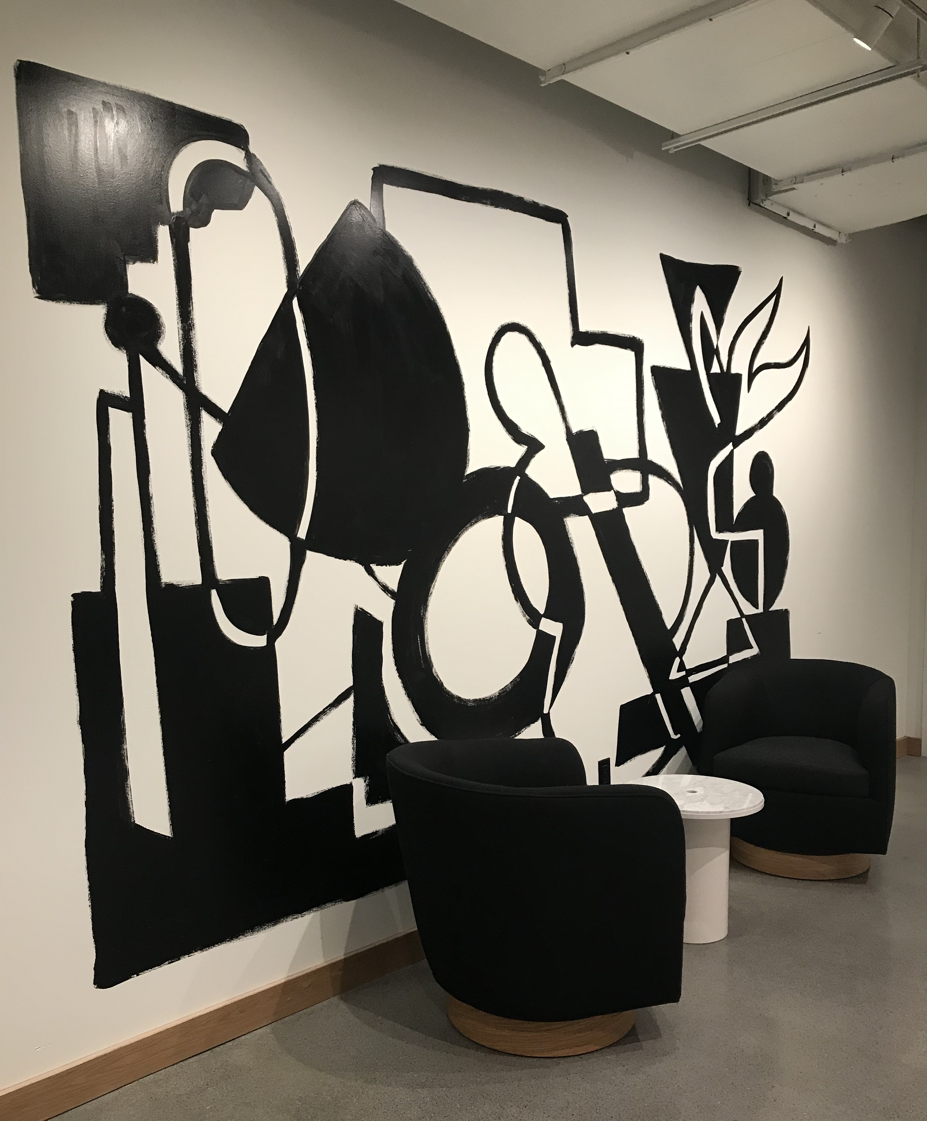 Murals By Marg We Work Abstract