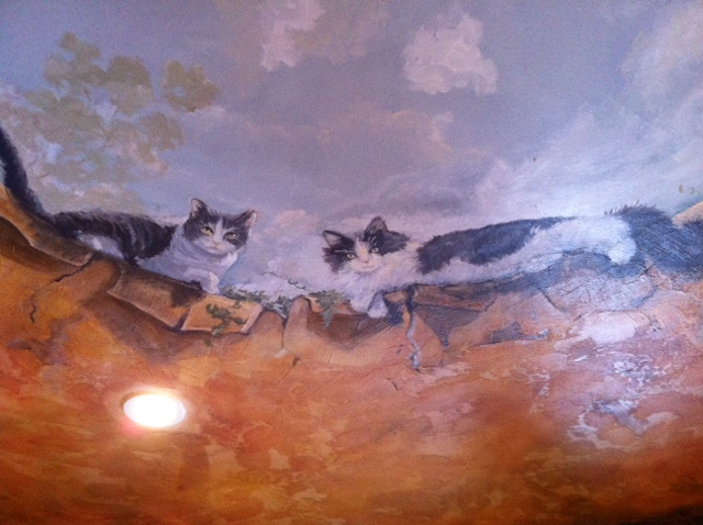 Murals By Marg tuscany plaster ceiling mural.JPG