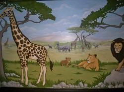 Murals By Marg Safari Mural 30