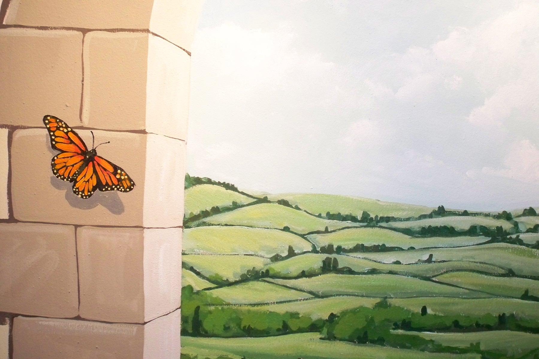 Murals By Marg Butterfly Playroom Mural 4.JPG