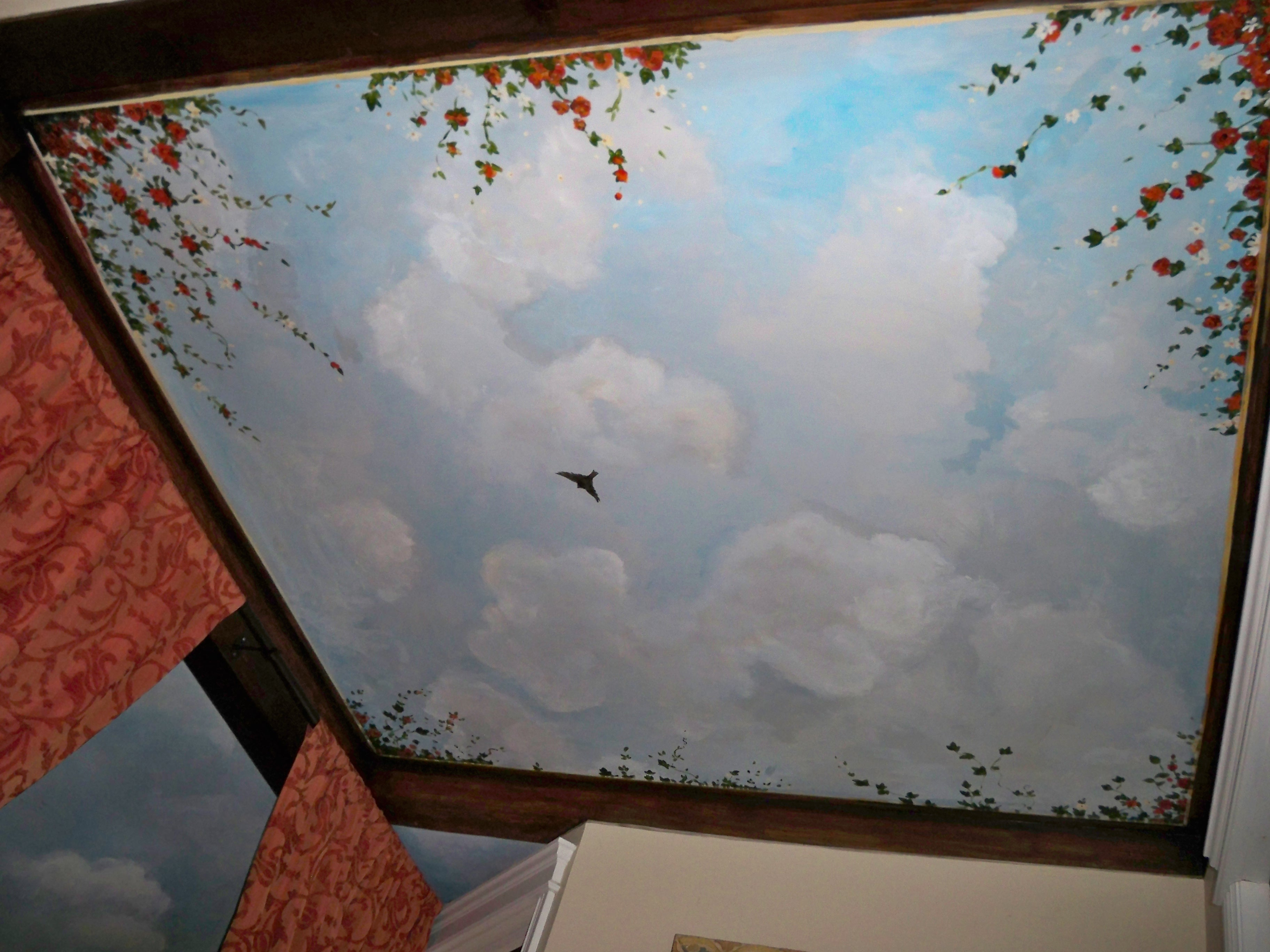 Murals By Marg Ceiling Mural 38