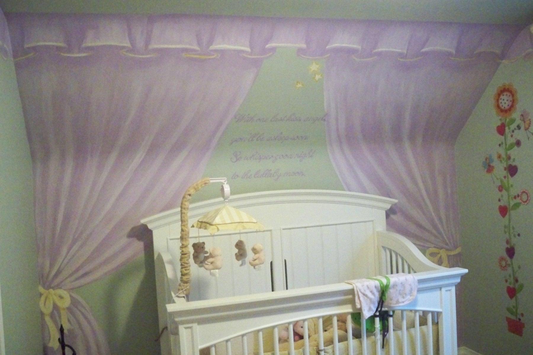 Murals By Marg Genevieve's Nursery Mural 1.JPG