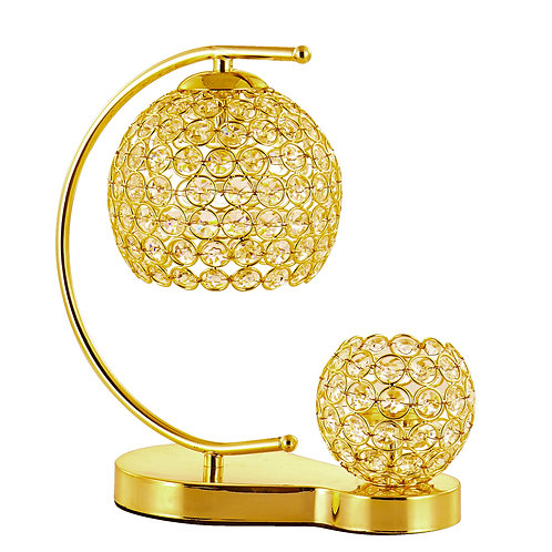 Gold Candlestick Touch Table Lamp