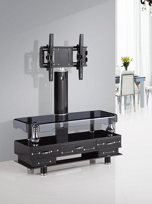 TV Stand 3 Drawer Black