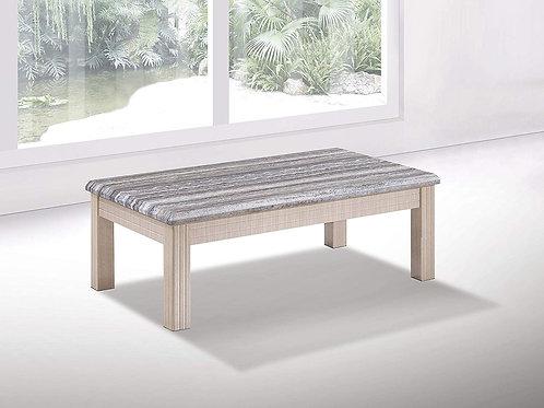 Oak Marble Effect Coffee Table