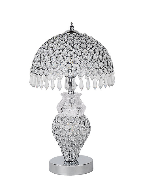 Silver Touch Table Lamp