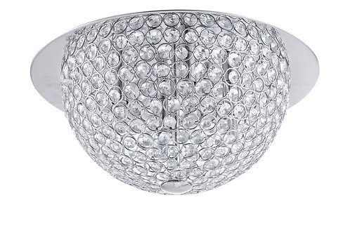 Crystal Hemisphere Ceiling Light