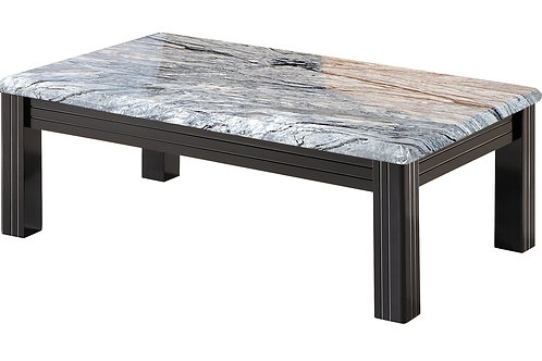 Grey Marble Effect Coffee Table