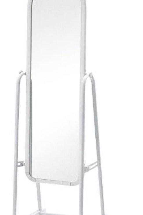 White Standing Mirror