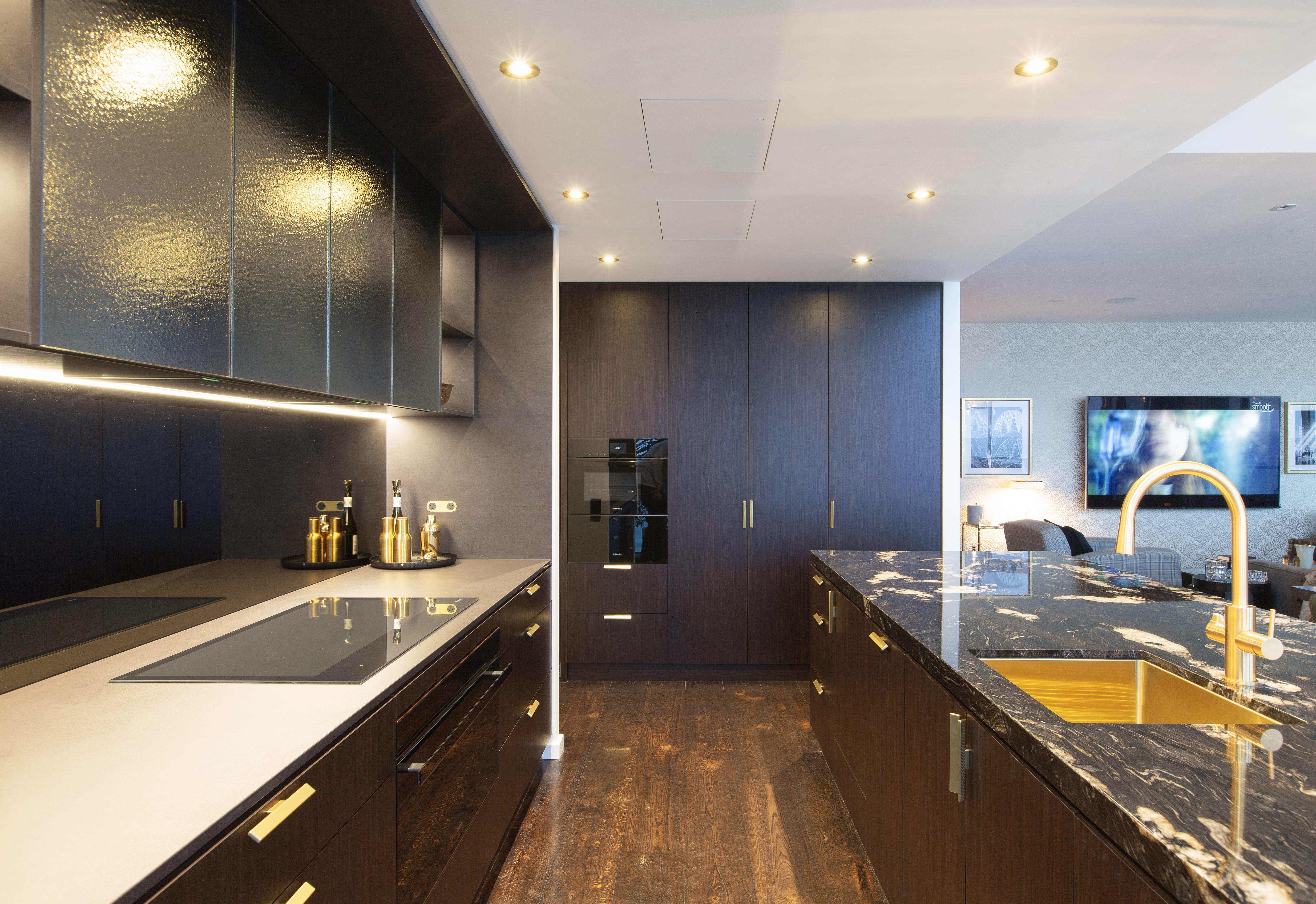Galley View of Kitchen