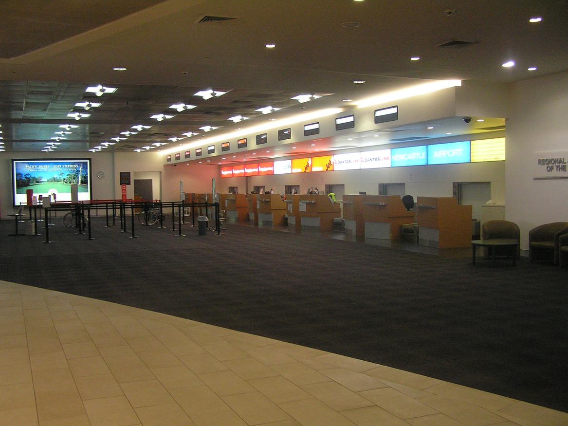 Newcastle Airport Upgrade 2006