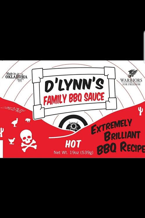 D'Lynn's HOT BBQ 16oz