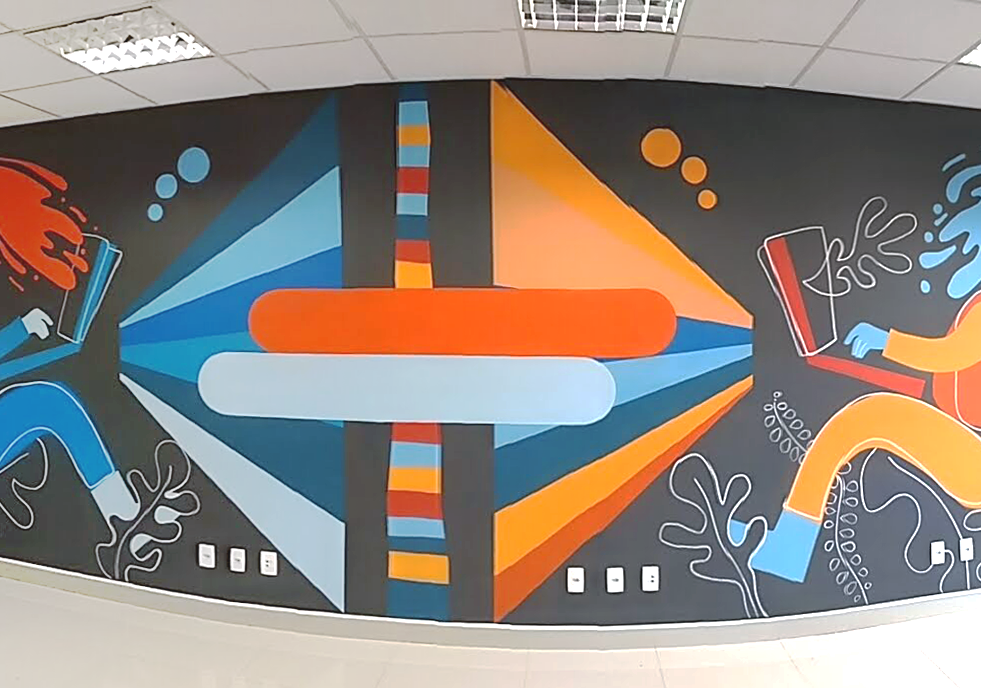 Mural Ancai - Resultado final