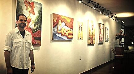Exposição Divinas de Renato Stegun - maio/2013