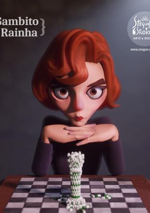 Beth Harmon 3D