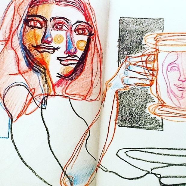 Ilustração em papel