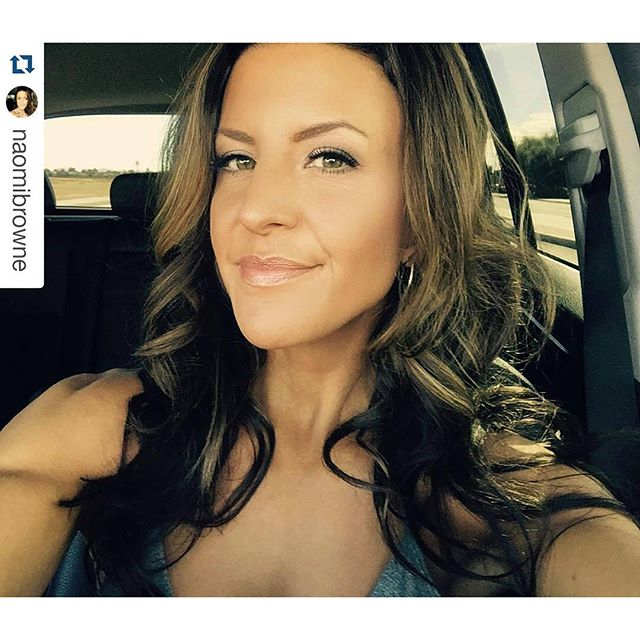 #Repost _naomibrowne with _repostapp_・・・_Thank you _lexi0424 for the pretty hair and makeup 💄 Girls