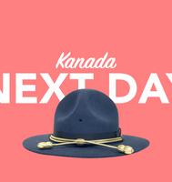 Morgen in Kanada per overnight Kurier