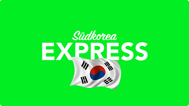Per Express nach Südkorea versenden