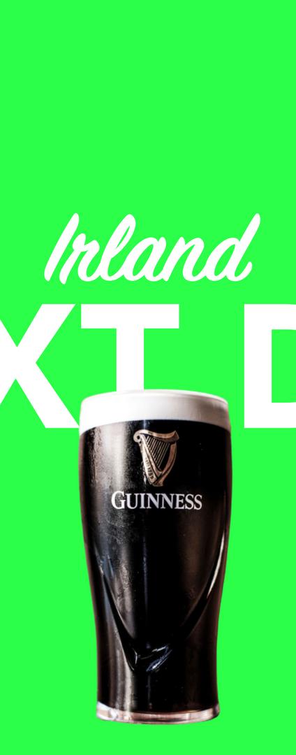 Morgen in Irland per overnight Kurier