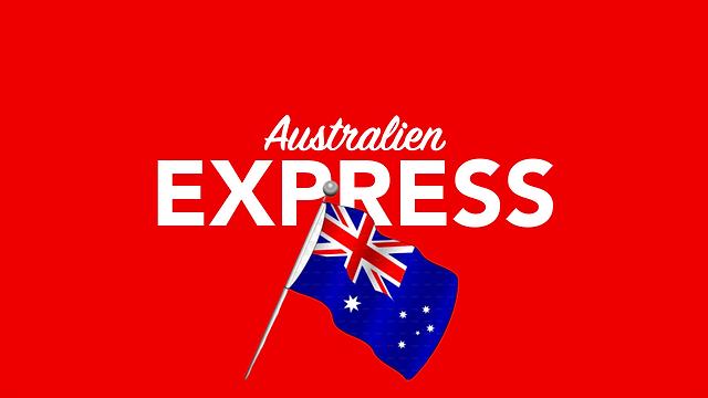 Per Express nach Australien versenden