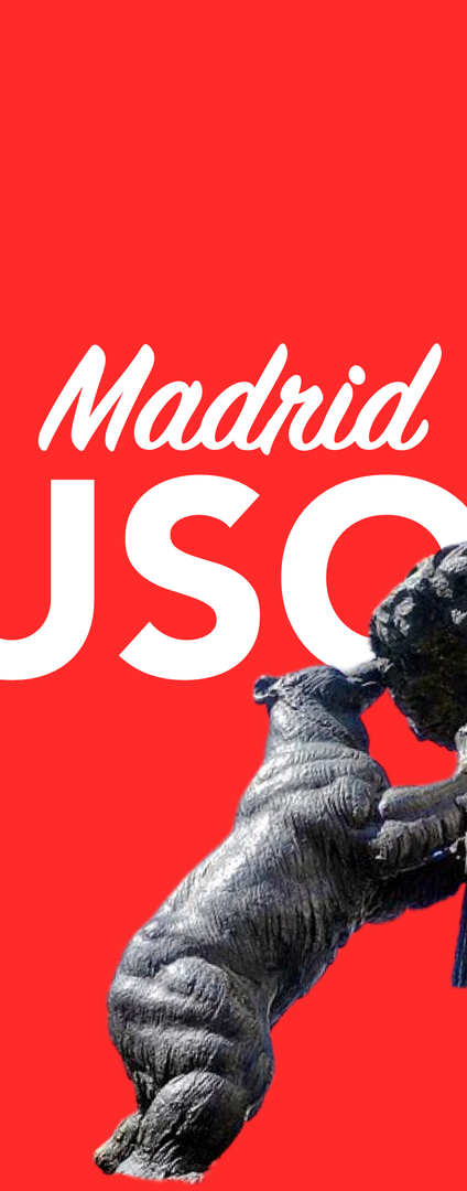 Heute noch Madrid per Kurier