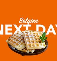 Morgen in Belgien per overnight Kurier