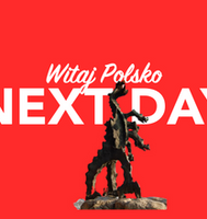 Morgen in Polen per overnight Kurier
