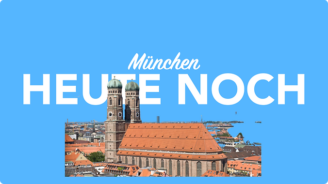 Heute noch München per Kurier