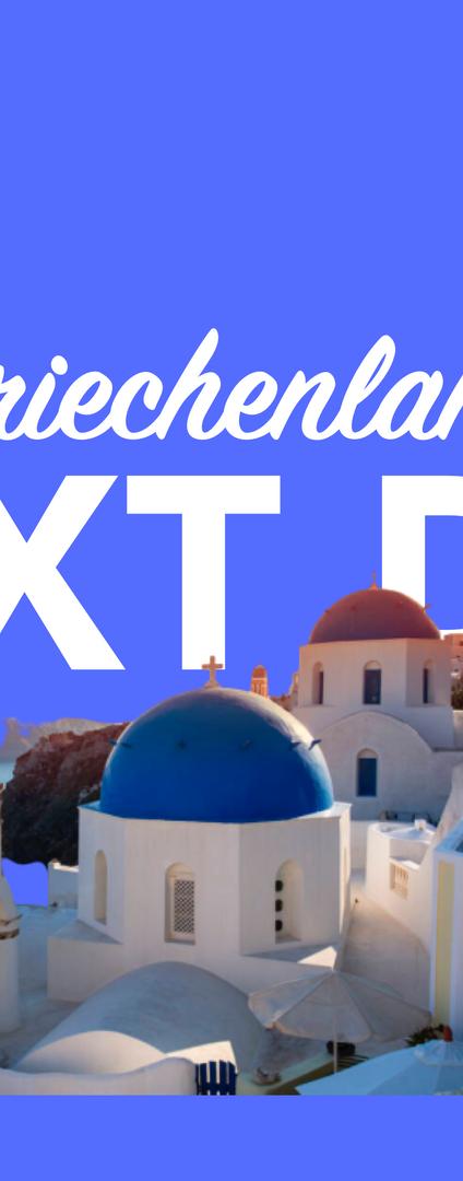 Morgen in Griechenland per overnight Kurier
