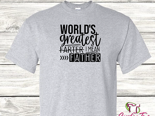 Father's Day World's Greatest Farter