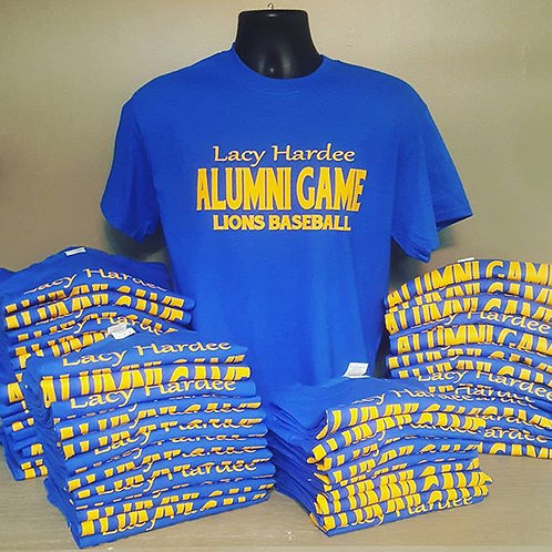 Reunion/Alumni Shirts