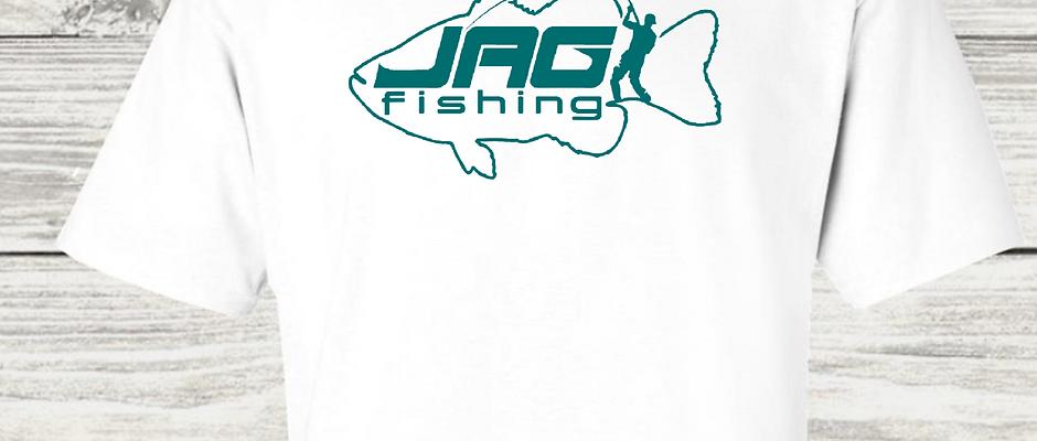 JustAnotherGuyFishing (JAG) Short Sleeve Open Logo