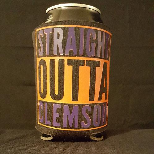 Straight Outta Clemson Koozie