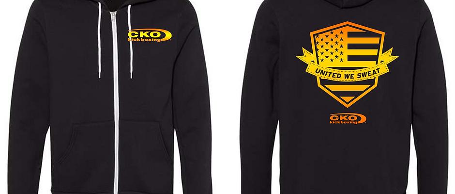 CKO Kickboxing-Full Zip Fleece Hoodie