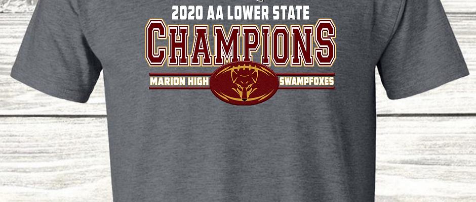 Marion Swampfox Championship Shirts