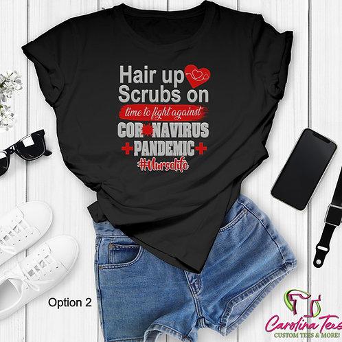Hair Up Scrubs On Nurse Life