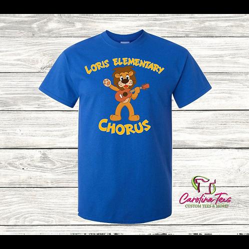 Loris Elementary Chorus Shirt 2020