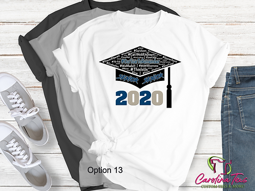 2020 Our Year to Remember Senior Tee