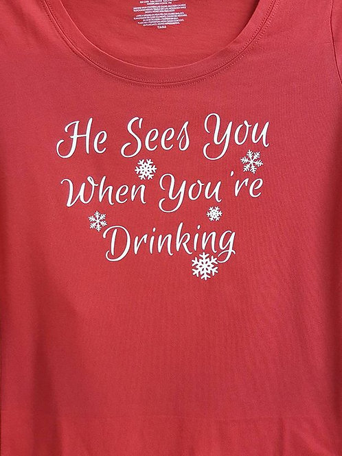 Christmas:  He Sees You When...