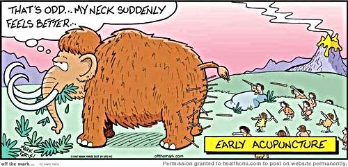 Acupuncture Comic