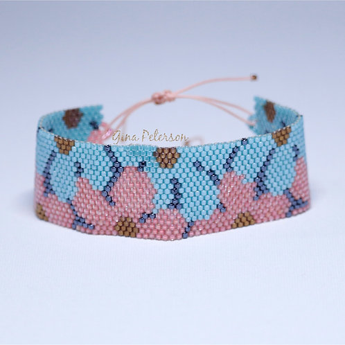 Blossom Cuff  Miyuki Bracelet