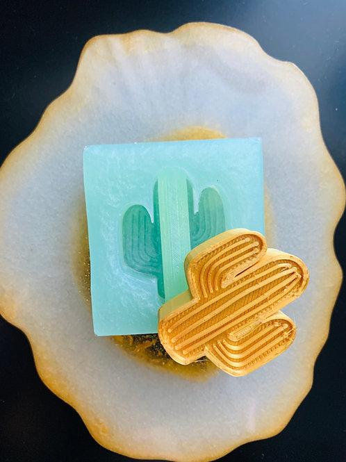 Cactus Silicone Mold Straw Topper