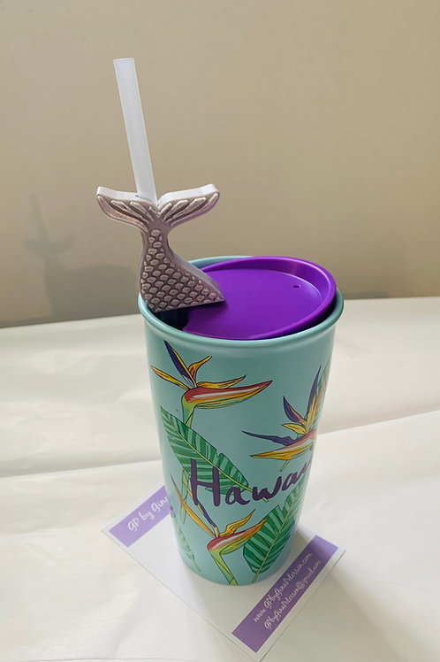 Mermaid 3D Printing Straw Topper