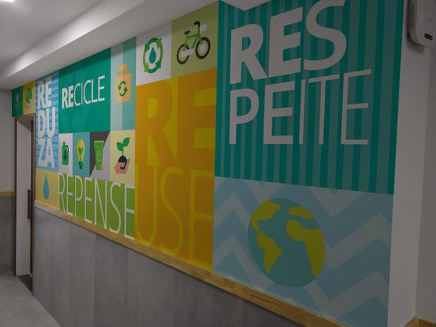 Ambientação CERC Recicle
