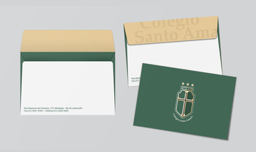 Colegio Santo Amaro - Envelope